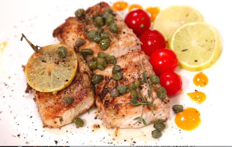 5 Minute Fish: Greek Style