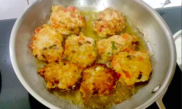 Chaapli Kabab