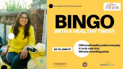 BINGO with a Healthy Twist! @ GurgaonMoms Online Activity