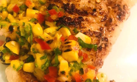 Grilled Fish with Corn Salsa