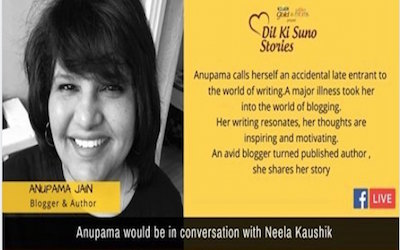 #DilKiSuno Stories with Anupama Jain