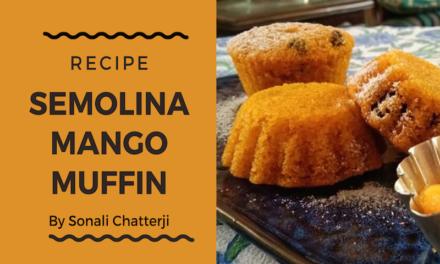 Semolina Mango Muffin