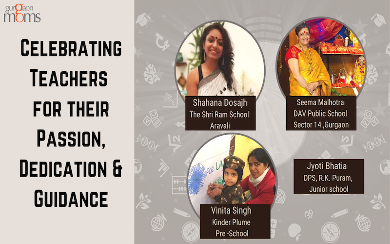Celebrating Teachers for their Passion,Dedication & Guidance