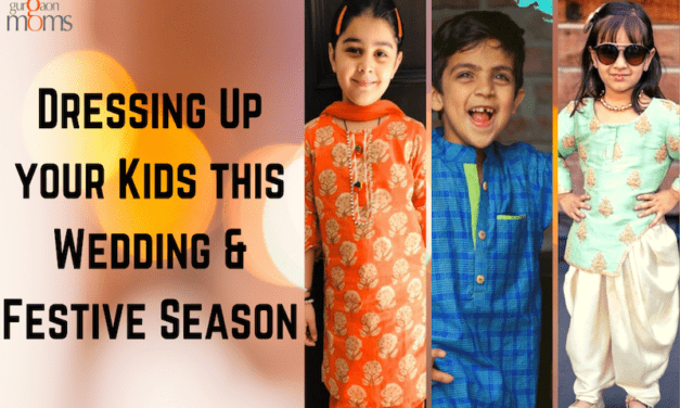 Dressing Up your Kids this Wedding & Festive Season