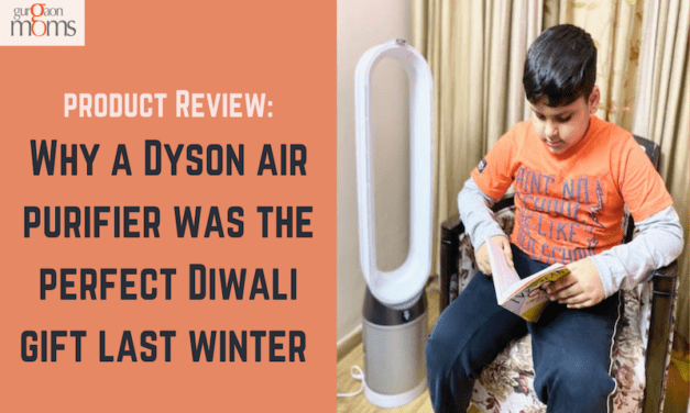 Why a Dyson air purifier was the perfect Diwali gift last winter