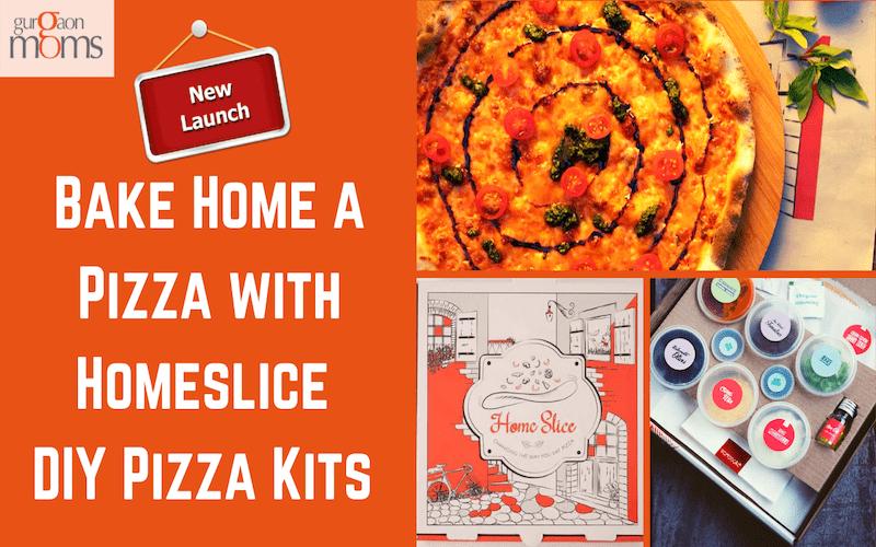 Bake Home a Pizza with Homeslice DIY Pizza Kits