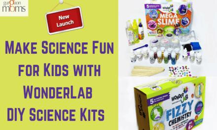 Make Science Fun for Kids with WonderLab DIY Science Kits