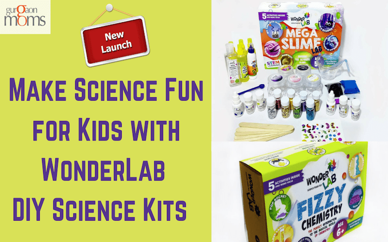 Make Science Fun for Kids with WonderLab DIY Science Kits