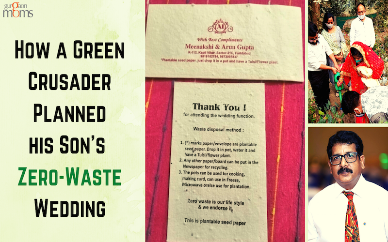 How a Green Crusader Planned his Son's Zero-Waste Wedding