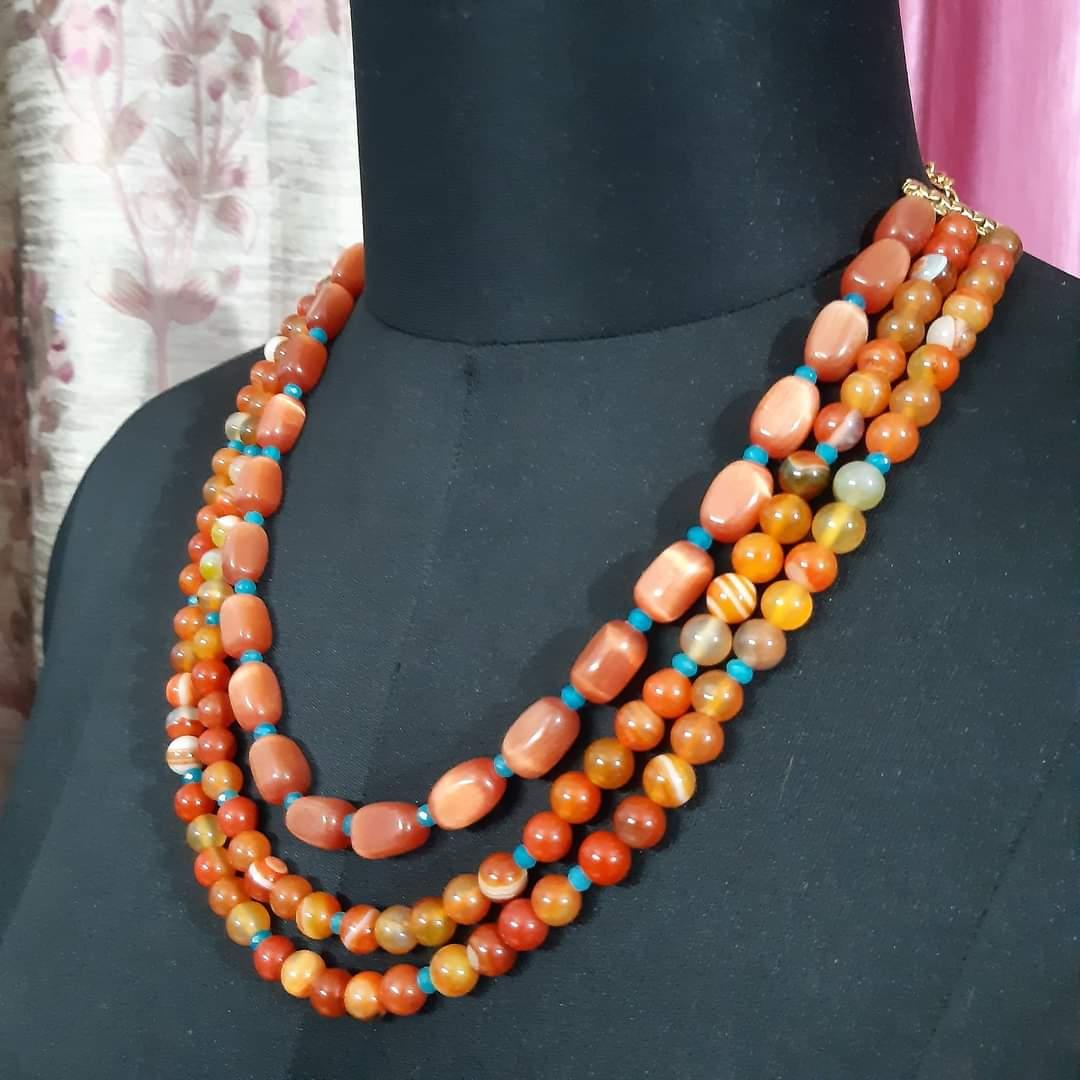 semi-precious jewellery