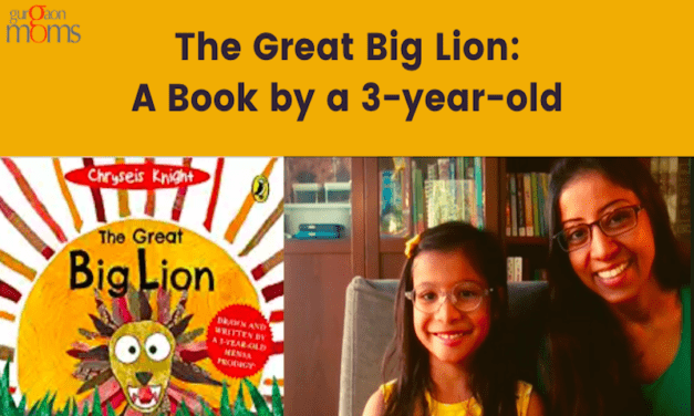 The Great Big Lion:A Book by a 3-year-old